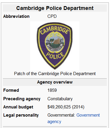 Cambridge police 1