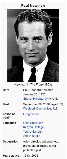 paul newman 1